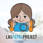LFP logo girl camera blue